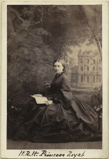 Victoria, Empress of Germany and Queen of Prussia, by Camille Silvy - NPG x36371