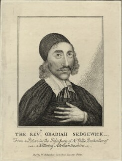 Obadiah Sedgwick, after Unknown artist, published by  William Richardson - NPG D28861