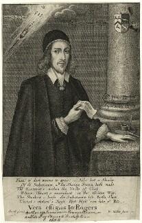 John Rogers, by Wenceslaus Hollar, after  Savill - NPG D28873