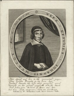John Murcot, after William Faithorne, published by  William Richardson - NPG D28877