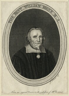 William Benn, by James Caldwall - NPG D28889