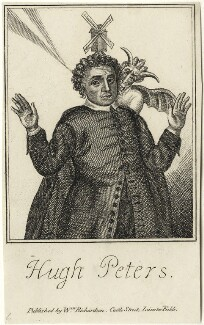 Hugh Peter (Peters), after Unknown artist, published by  William Richardson - NPG D28895