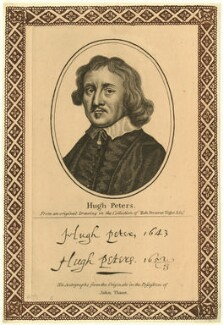Hugh Peter (Peters), after Unknown artist, published by  John Thane - NPG D28898