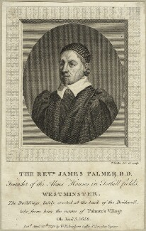 James Palmer, by Thomas Trotter, published by  William Richardson - NPG D28904