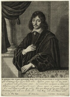 Alexander More (Morus), published by Hendrick Focken, after  Crispijn de Passe the Younger - NPG D28910