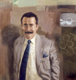 Robert Winston, by Tom Wood - NPG 6519
