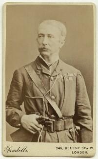 Garnet Joseph Wolseley, 1st Viscount Wolseley, by Albert Eugene Fradelle, 1882 - NPG x13316 - © National Portrait Gallery, London