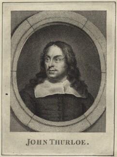 John Thurloe, after Samuel Cooper - NPG D28921