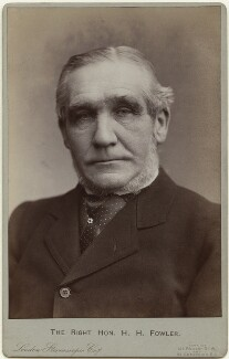 Henry Hartley Fowler, 1st Viscount Wolverhampton, by London Stereoscopic & Photographic Company - NPG x24819