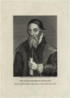 Sir Alexander Erskine of Gogar, by Andrew Birrell - NPG D28935