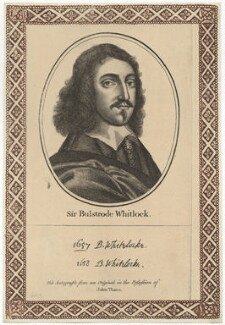 Bulstrode Whitelocke, after Unknown artist, published by  John Thane - NPG D28944