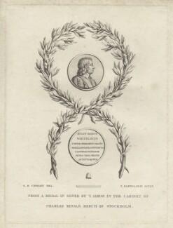 Bulstrode Whitelocke, by Francesco Bartolozzi, after  Giovanni Battista Cipriani - NPG D28946