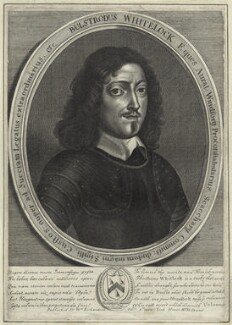 Bulstrode Whitelocke, after William Faithorne, published by  William Richardson - NPG D28947