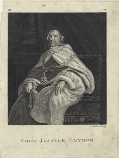 Sir John Glynne, by James Caldwall - NPG D28948