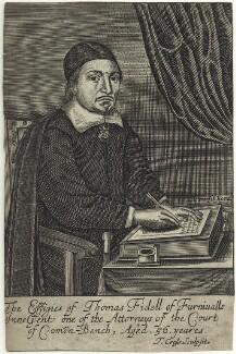 Thomas Fidell, by Thomas Cross - NPG D28955