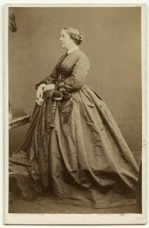 Charlotte Helen Sainton-Dolby, by Lock & Whitfield - NPG x22334