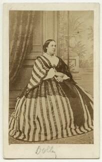 Charlotte Helen Sainton-Dolby, probably by John Burton - NPG x22333