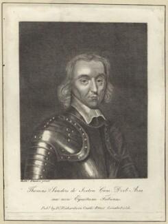 Thomas Sanders, after Balthasar Flessiers - NPG D28975