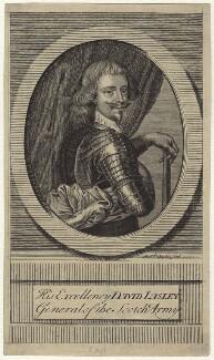 David Lesley, 1st Baron Newark, by Michael Vandergucht - NPG D28985
