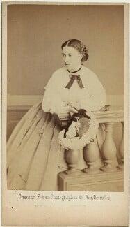 Princess Helena Augusta Victoria of Schleswig-Holstein, by Ghémar Frères, mid 1860s - NPG x36356 - © National Portrait Gallery, London