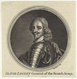 David Lesley, 1st Baron Newark, by Simon François Ravenet - NPG D28986