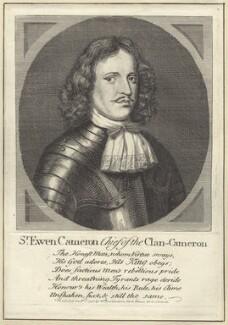 Sir Ewen Cameron of Lochiel, published by William Richardson - NPG D28987