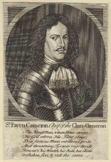 Sir Ewen Cameron of Lochiel, after Unknown artist - NPG D28988