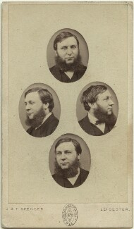 James Orrock, by John & Thomas Spencer, mid-late 1860s - NPG  - © National Portrait Gallery, London
