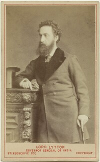 Edward Robert Bulwer-Lytton, 1st Earl of Lytton, by London Stereoscopic & Photographic Company - NPG Ax46198