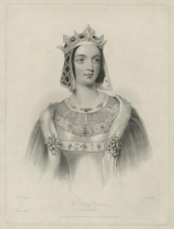 Jane Georgiana Seymour (née Sheridan), Duchess of Somerset when Lady Seymour, by William Henry Mote, after  John Hayter - NPG D32499
