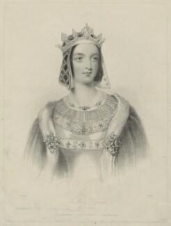 Jane Georgiana Seymour (née Sheridan), Duchess of Somerset when Lady Seymour, by William Henry Mote, after  John Hayter - NPG D32500