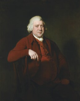 Sir Richard Arkwright, by Joseph Wright, circa 1783-1785 - NPG 6848 - © National Portrait Gallery, London, and the Harris Museum & Art Gallery, Preston