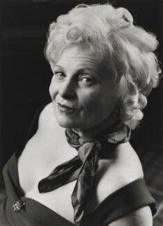Dame Vivienne Westwood, by Jane Bown - NPG P758(9)