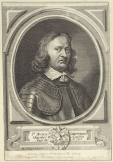 Sir Hugh Cartwright, after Abraham Diepenbeeck, published by  William Richardson - NPG D29004