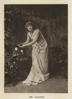 Ellen Terry as Iolanthe in 'Iolanthe', by Window & Grove - NPG Ax131303