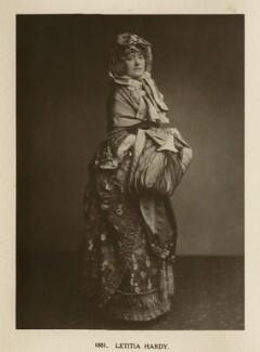 Ellen Terry as Letitia Hardy in 'The Belle's Strategem', by Window & Grove - NPG Ax131305