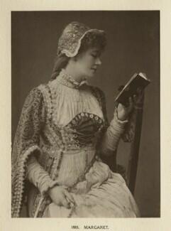 Ellen Terry as Margaret in 'Faust', by Window & Grove - NPG Ax131309