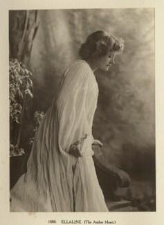 Ellen Terry as Ellaline in 'The Amber Heart', by Window & Grove - NPG Ax131312