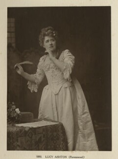 Ellen Terry as Lucy Ashton in 'Ravenswood', by Window & Grove - NPG Ax131314