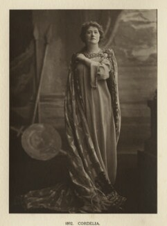 Ellen Terry as Cordelia in 'King Lear', by Window & Grove - NPG Ax131317