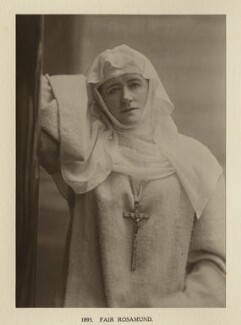 Ellen Terry as Fair Rosamund in 'Becket', by Window & Grove, 1893, published 1906 - NPG Ax131319 - © National Portrait Gallery, London