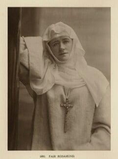 Ellen Terry as Fair Rosamund in 'Becket', by Window & Grove - NPG Ax131319