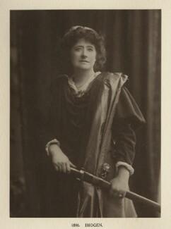 Ellen Terry as Imogen in 'Cymbeline', by Window & Grove, 1896, published 1906 - NPG Ax131322 - © National Portrait Gallery, London