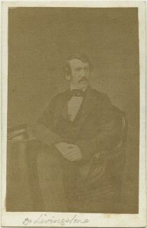 David Livingstone, by John Jabez Edwin Mayall - NPG x12463