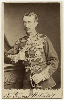 Garnet Joseph Wolseley, 1st Viscount Wolseley, by Window & Grove - NPG x13321