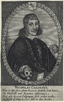 Nicholas Culpeper, after Unknown artist - NPG D29028