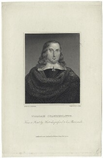 William Chamberlayne, by Charles Rolls, published by  W. Walker, after  John Thurston, after  Abraham Hertochs (Hertocks) - NPG D29047