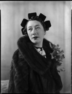 Gladys (née Hardy), Lady Garthwaite, by Bassano Ltd - NPG x152580