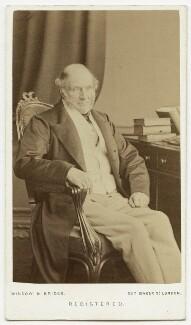 John Russell, 1st Earl Russell, by Window & Bridge - NPG x15135