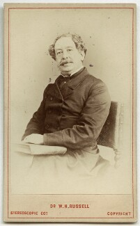 Sir William Howard Russell, by London Stereoscopic & Photographic Company - NPG x46544